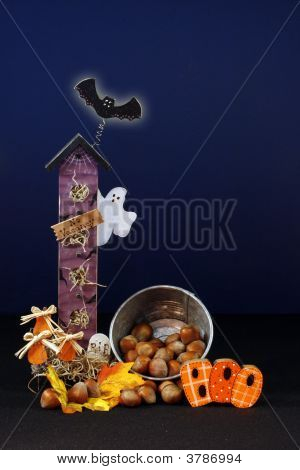 Halloween Ghost  House
