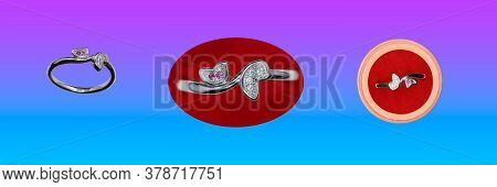 Red Chimes Fishes On Ruby 925 Silver Plated Fancy Rings Design For Women And Girls (jewels Catalog )