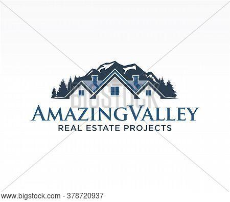 Real Estate Logo, Home Logo, House Logo, Property Logo, Building Logo, Vector Logo Template. Graphic