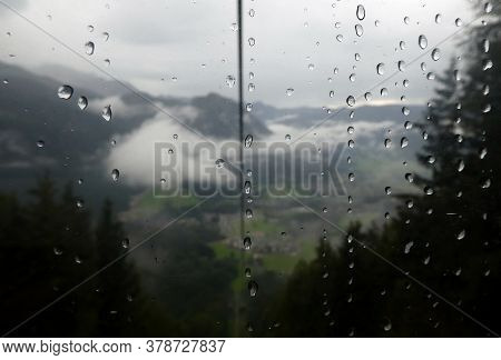 Beautiful Outlook From A Mountain At Berchtesgaden, Germany