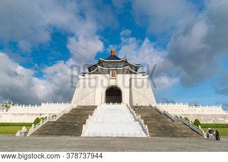 Chiang Kai-shek Memorial In Taipei