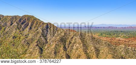 Rocky Mountains Landscape, San Juan Province, Argentina