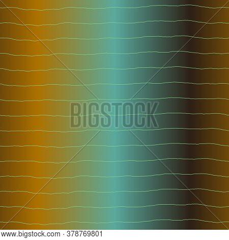 Blurry Neon Gradient Glitch Abstract Texture Background. Wavy Irregular Bleeding Dye Seamless Patter