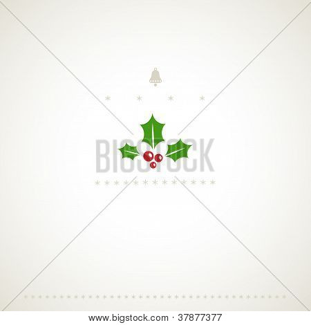 Winter Holly Background