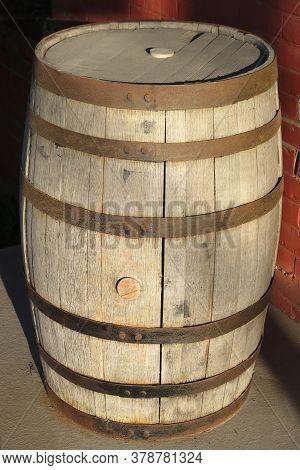 Wine Oak Wood Barrel Cask Alcohol Storage
