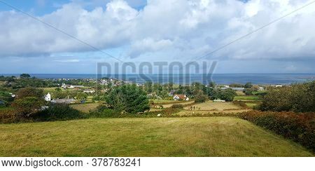 Castel Fields And Countryside, Guernsey Channel Islands