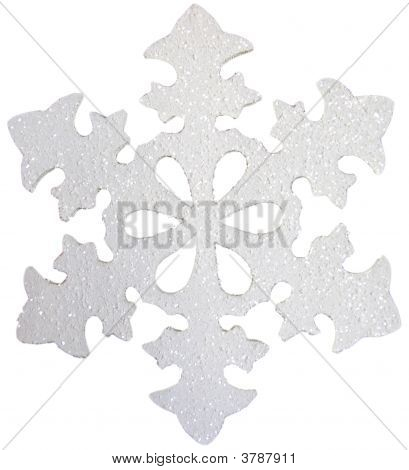 Shimmery Ornament Snowflake