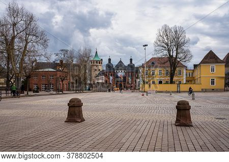 Speyer, Germany - Mar 14, 2020: Historical Museum Of The Palatinate In Speyer, Rhineland-palatinate,