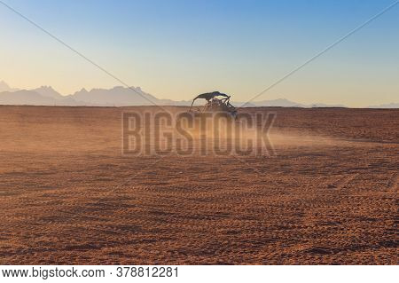 Safari Trip Through Egyptian Desert Driving Buggy Cars