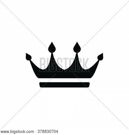 Crown Icon Isolated On White Background. Crown Icon Trendy And Modern Crown Symbol For Logo, Web, Ap