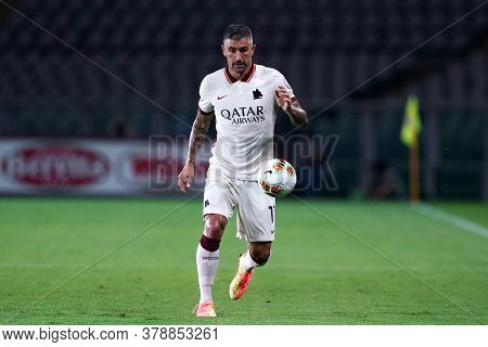 Torino (italy). 29th July 2020. Italian Serie A. Torino Fc Vs As Roma.aleksandar Kolarov Of  As Roma