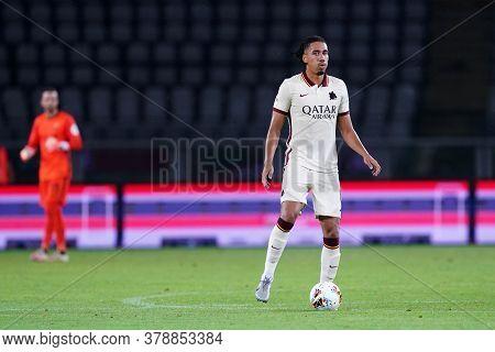 Torino (italy). 29th July 2020. Italian Serie A. Torino Fc Vs As Roma.chris Smalling Of  As Roma  .