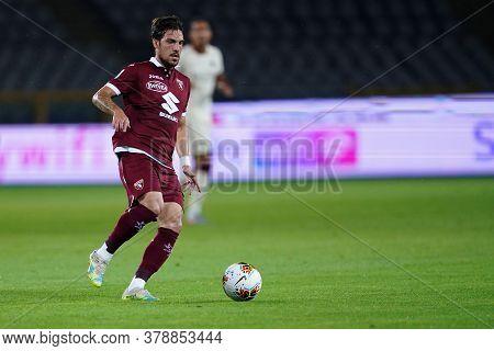 Torino (italy). 29th July 2020. Italian Serie A. Torino Fc Vs As Roma.simone Verdi Of Torino Fc    .
