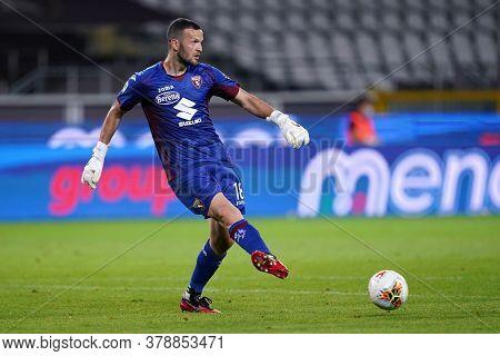 Torino (italy). 29th July 2020. Italian Serie A. Torino Fc Vs As Roma.samir Ujkani Of Torino Fc    .