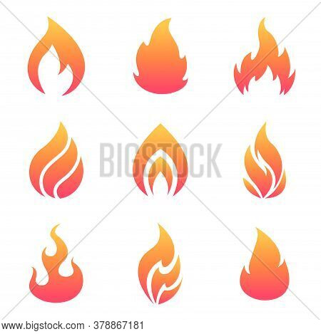 Cartoon Flames Set Vector Photo Free Trial Bigstock Flame can give life, and can kill. big stock photo