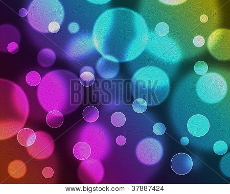 Abstract background with textures with a bokeh effect
