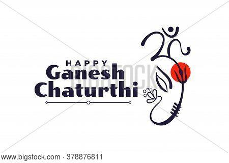 Lord Ganesha Festival Of Ganesh Chaturthi Background