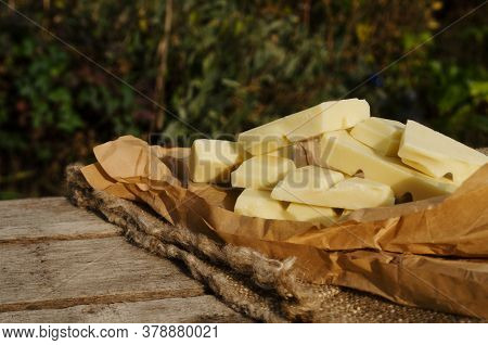 Pieces Of Cocoa Butter