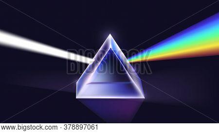 Physics Light Passing Through A Triangular Prism