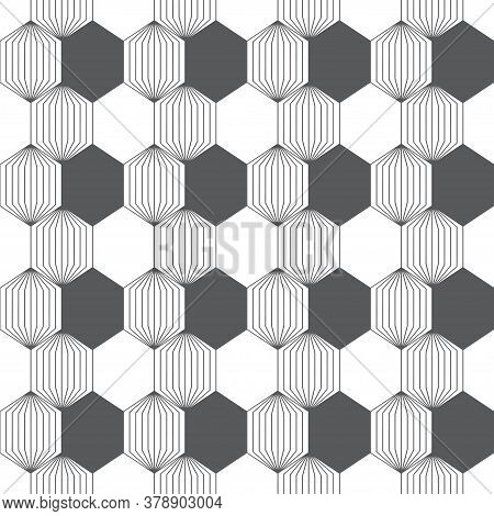 Vector Seamless Pattern. Abstract Textured Background. Modern Trendy Texture With Regularly Repeatin