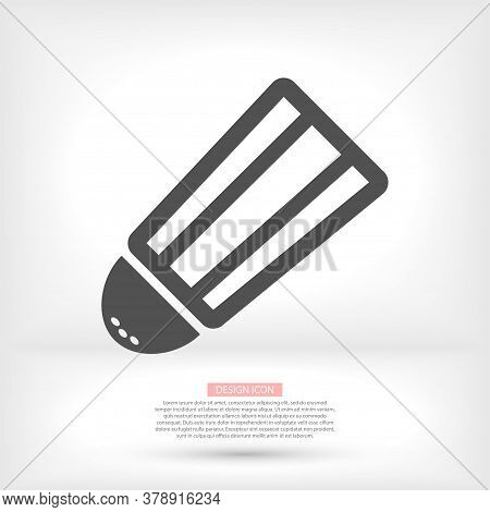 Do Pour Salt From Salt Shaker Vector Icon. Baking And Cooking Ingredient. Vector Icon Cartoon Vector