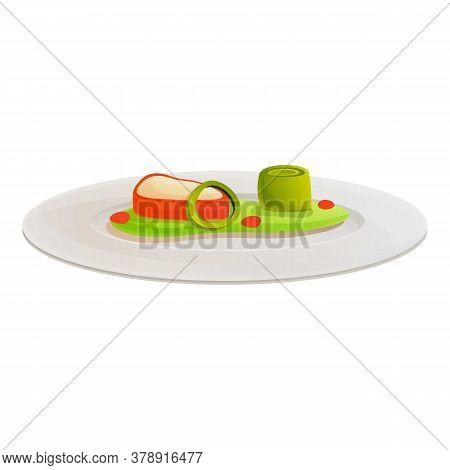 Vegetables Molecular Cuisine Icon. Cartoon Of Vegetables Molecular Cuisine Vector Icon For Web Desig
