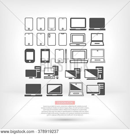 Phone Laptop Vector Work Work With Computer Icons