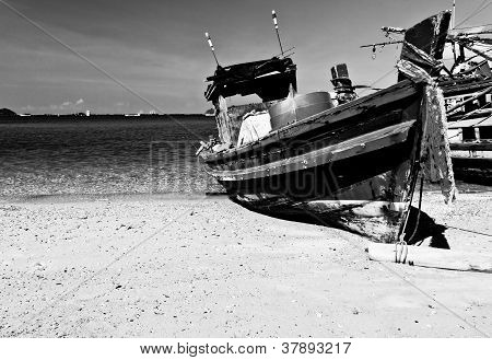 The Old Fishing Boat
