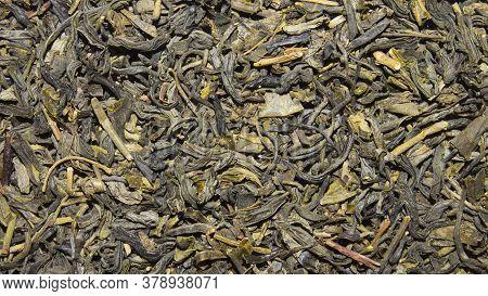 Green Tea.green Tea Background Top View.texture Of Green Tea.