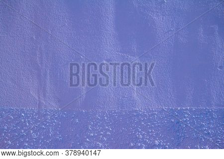Abstract Grunge Decorative Blue Wall Background. Art Texture Banner With Space For Text