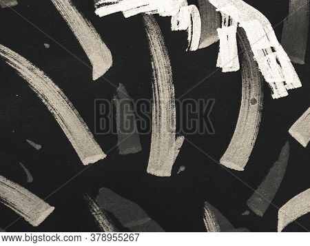 Texture Pattern Background. Modern Print. Ornament Paintbrush Artwork. Background Hand Drawn. Childi