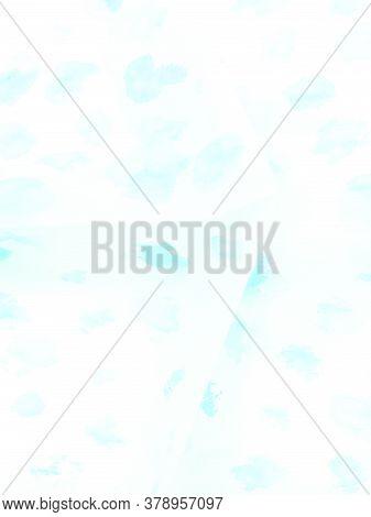 Light Blue Presentation Background. Aquamarine Air Poster. Light Blue Presentation Background. Ice I