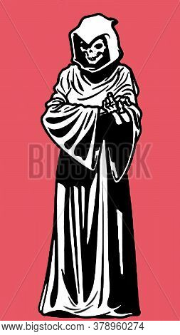 This Is A Sketch Of Grim Reaper