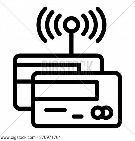 Devices Remote Control Icon. Outline Devices Remote Control Vector Icon For Web Design Isolated On W