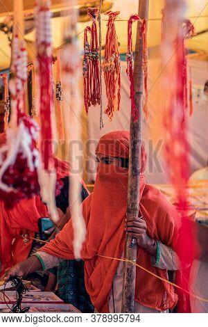 1 August 2020, Madhyapradesh Sarni City Market.the Festival Celebrated In India Is Known As Rakshaba