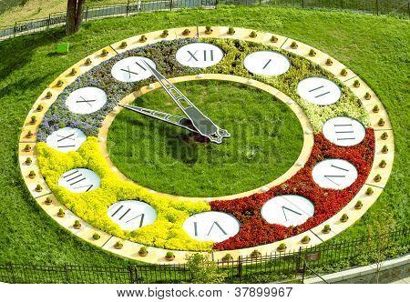 Kiev Flower Clock