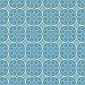 vintage seamless monochrome geometrical pattern background. vector poster