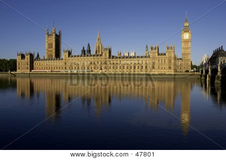Houses Of Parliment And Big Ben
