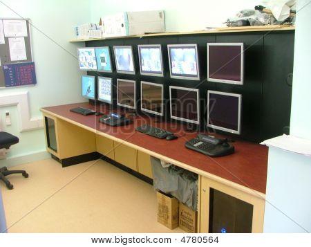 Cctv Control Room Desk