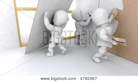 3D Construction Team