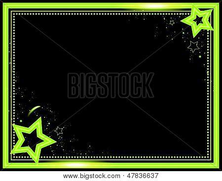 Neon Star Frame