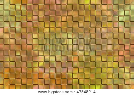 Emboss square blocks abstract background