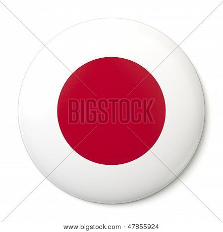 Japan Pin-back