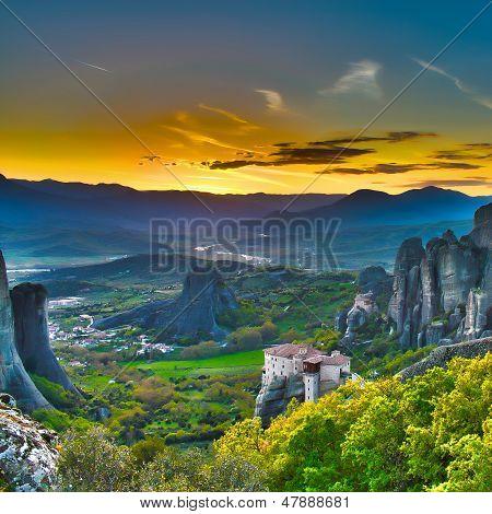 Monasteries on the Rocks