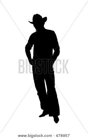 Silhouette Cowboy