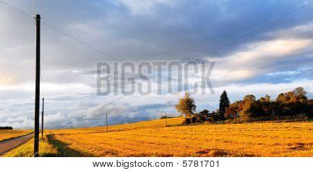 Swabian Alb In Autumn