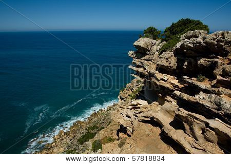 Cape Espichel Eroded Rocks