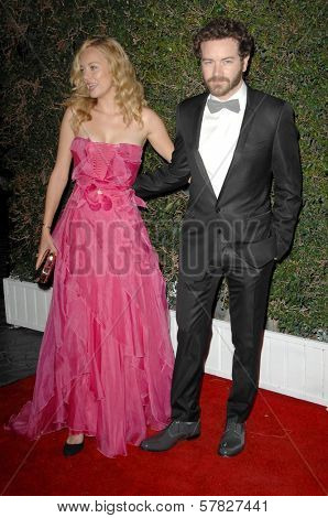 Bijou Phillips and Danny Masterson   at the Grand Opening of SLS Hotel. SLS Hotel, Los Angeles, CA. 12-04-08