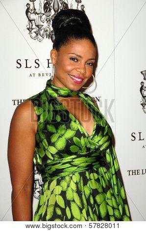 Sanaa Lathan   at the Grand Opening of SLS Hotel. SLS Hotel, Los Angeles, CA. 12-04-08