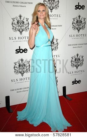 Bonnie Somerville   at the Grand Opening of SLS Hotel. SLS Hotel, Los Angeles, CA. 12-04-08